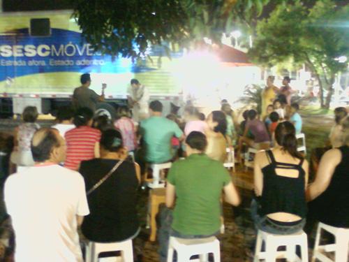 apresentação em Itajaí na Beira-Rio