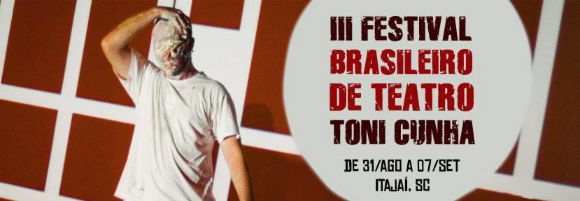 Mistérios de Elêusis no III Festival Brasileiro Toni Cunha