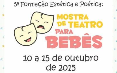 #Mergulho na mostra de teatro para bebês