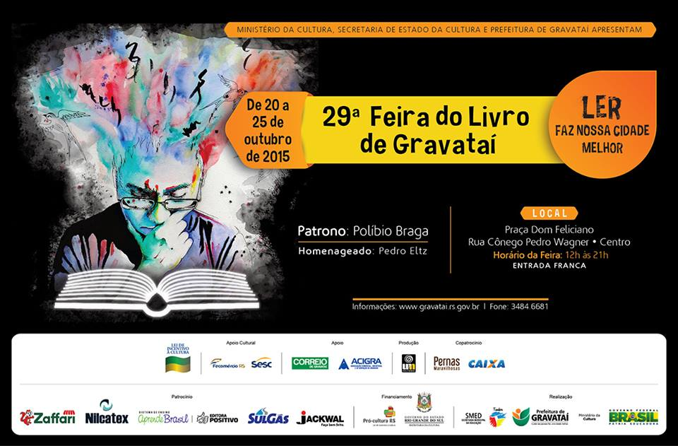 Performances na Feira do Livro de Gravataí