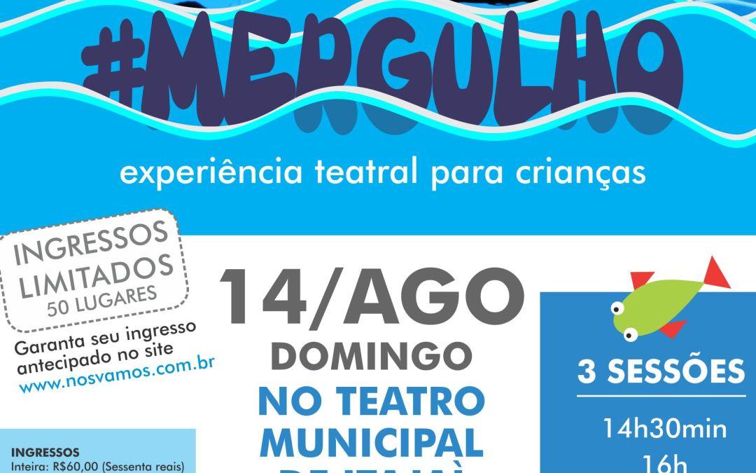 #MERGULHO no Teatro Municipal de Itajaí