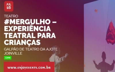 #MERGULHO e Oficina Ação e Projeção em Joinville