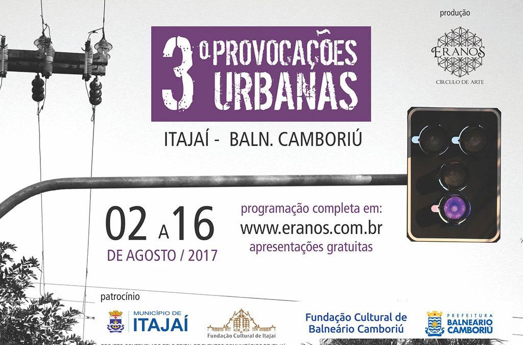 3º Provocações Urbanas