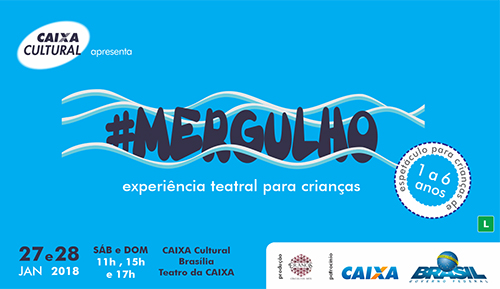 #Mergulho na CAIXA Cultural Brasília